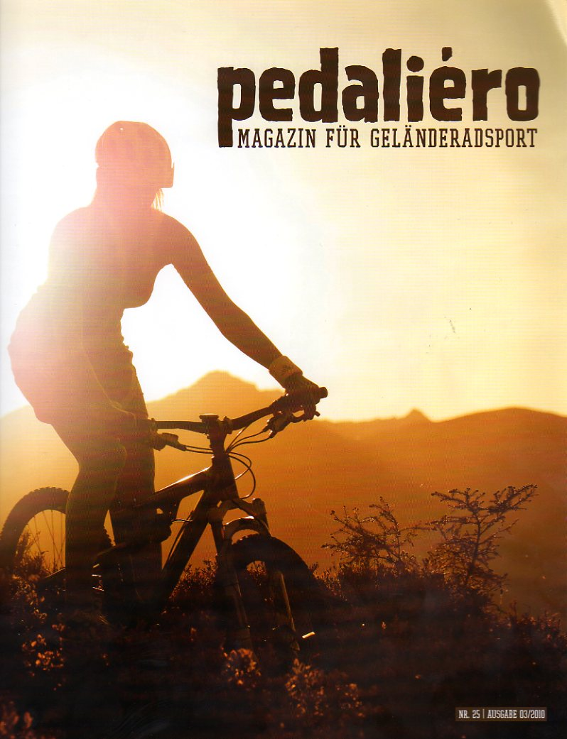 Artikel über Mountainbiken in igurien in der Bike Sport News