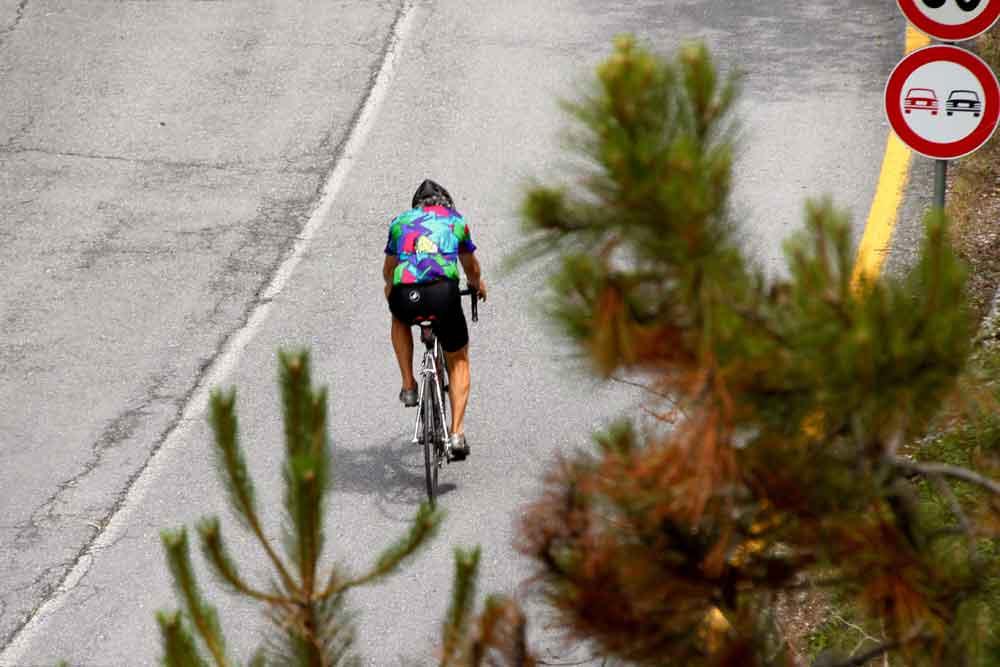 Rennrad in Ligurien