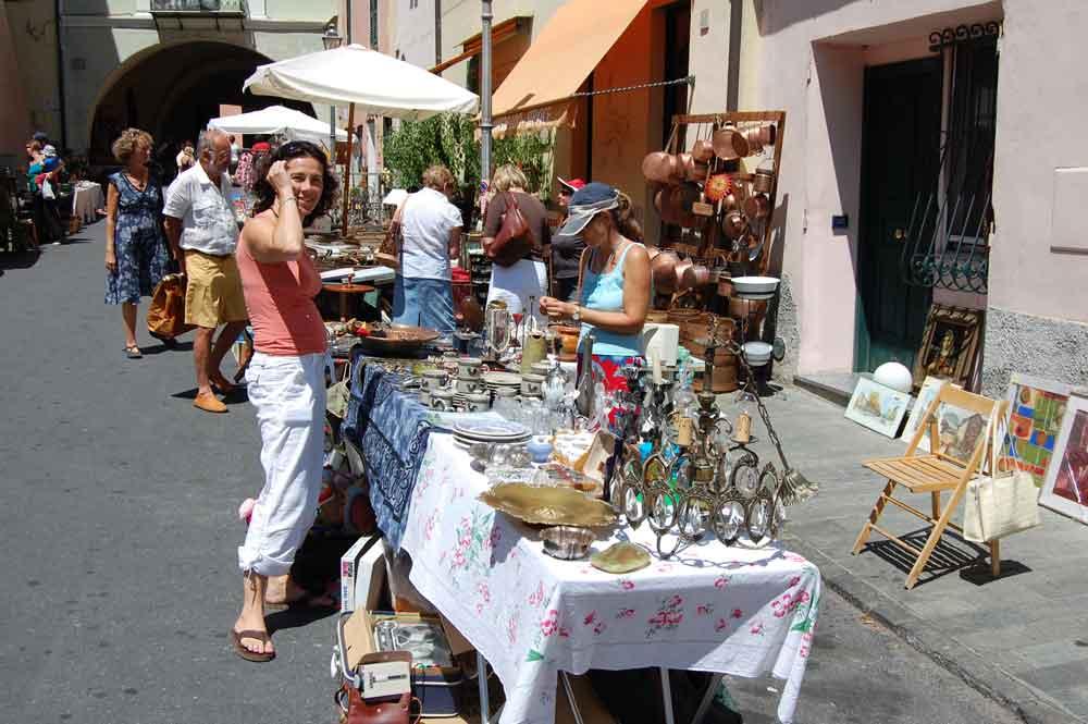 Märkte in Ligurien und Nizza