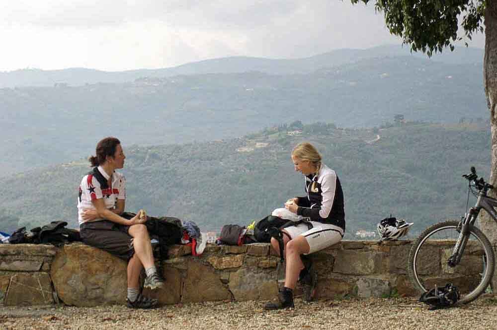 Bike und Yoga in Ligurien