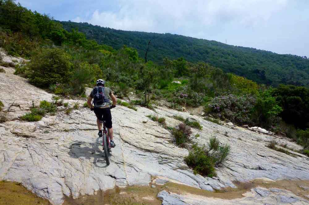 Mountainbike-Tour Evigno