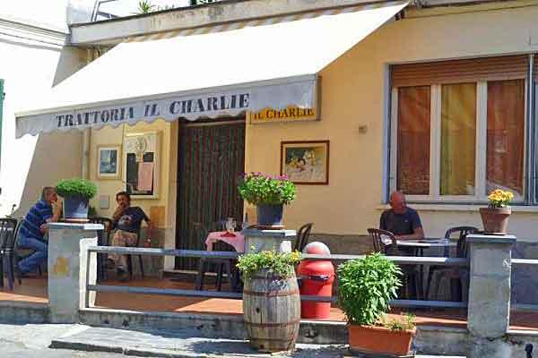 Trattoria Il Charlie in Prelà
