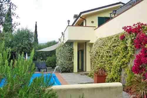 Villa del Sole in Isolalunga-Dolcedo