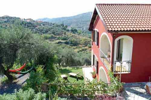 Casa Bastera in Isolalunga-Dolcedo