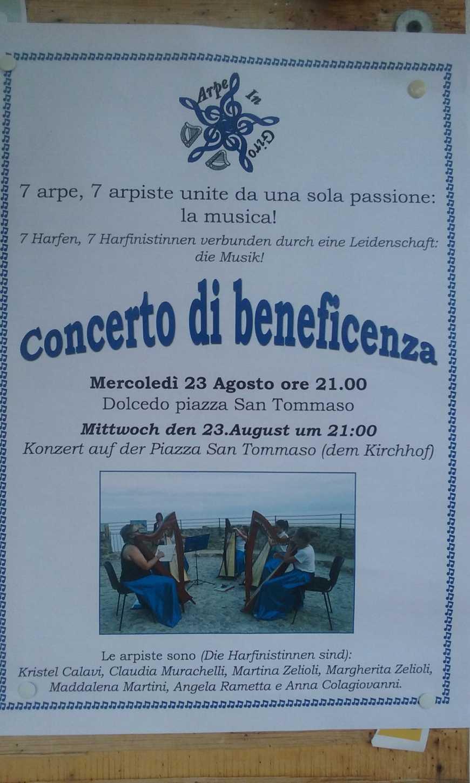 concerto arpa Dolcedo